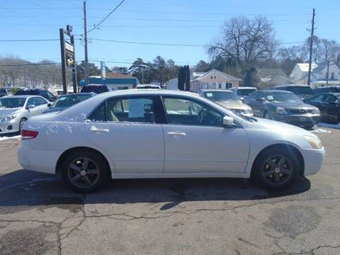 2004 Honda Accord for sale at RIVERSIDE AUTO SALES in Sioux City IA