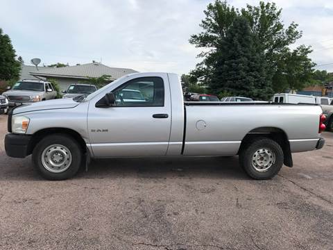 2008 Dodge Ram Pickup 1500 for sale at RIVERSIDE AUTO SALES in Sioux City IA