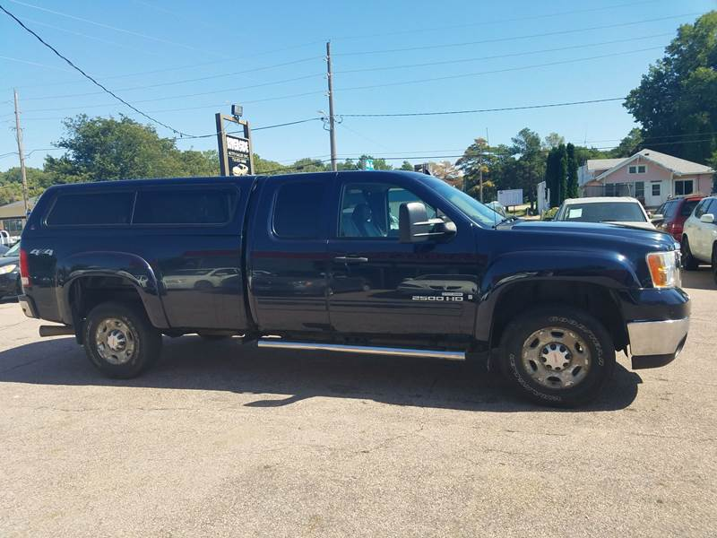 2007 Gmc Sierra 2500hd Slt 4dr Extended Cab 4x4 Lb In Sioux City Ia