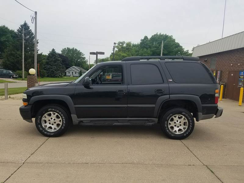 2005 Chevrolet Tahoe Z71 4wd 4dr Suv In Sioux City Ia