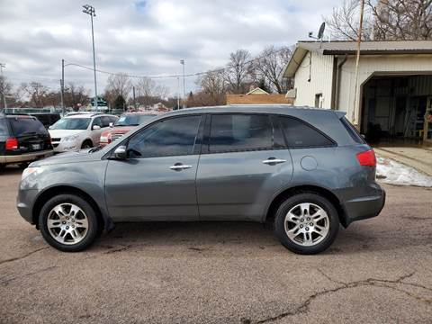 2007 Acura MDX SH-AWD for sale at RIVERSIDE AUTO SALES in Sioux City IA
