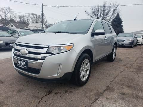 2011 Ford Edge SEL for sale at RIVERSIDE AUTO SALES in Sioux City IA