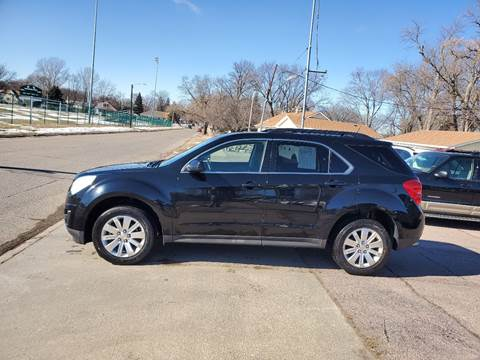 2011 Chevrolet Equinox LT for sale at RIVERSIDE AUTO SALES in Sioux City IA