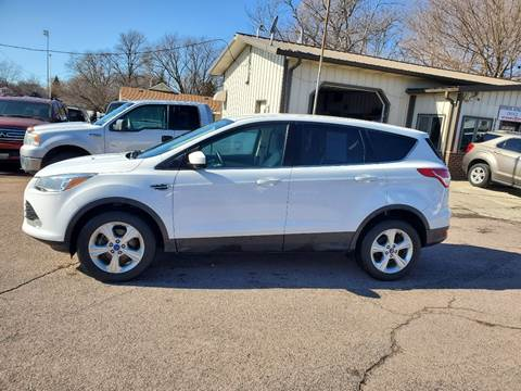 2013 Ford Escape SE for sale at RIVERSIDE AUTO SALES in Sioux City IA