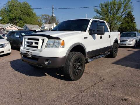 2008 Ford F-150 for sale at RIVERSIDE AUTO SALES in Sioux City IA