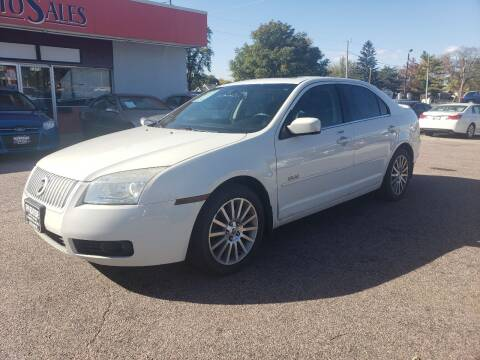 2008 Mercury Milan for sale at RIVERSIDE AUTO SALES in Sioux City IA