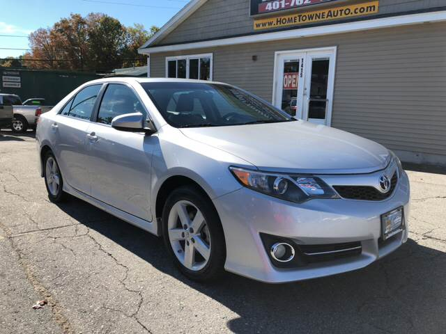 2012 Toyota Camry for sale at Home Towne Auto Sales in North Smithfield RI