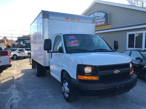 2012 Chevrolet Express Cutaway for sale at Home Towne Auto Sales in North Smithfield RI