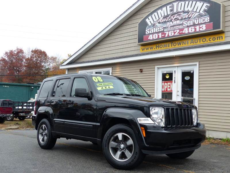 2008 Jeep Liberty for sale at Home Towne Auto Sales in North Smithfield RI