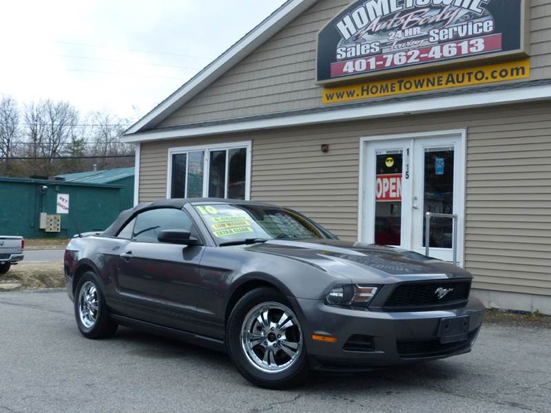 2010 Ford Mustang for sale at Home Towne Auto Sales in North Smithfield RI