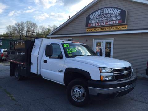2007 Chevrolet C/K 3500 Series for sale at Home Towne Auto Sales in North Smithfield RI