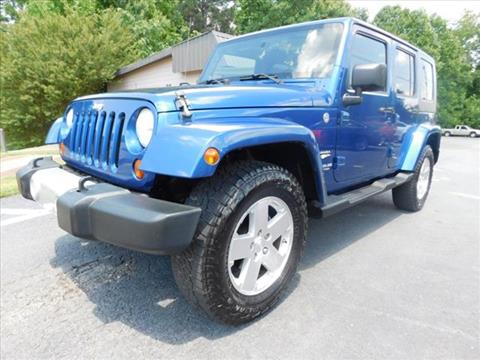 2009 Jeep Wrangler Unlimited for sale in Atlanta, GA