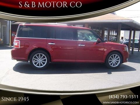 2014 Ford Flex for sale at S & B MOTOR CO in Danville VA