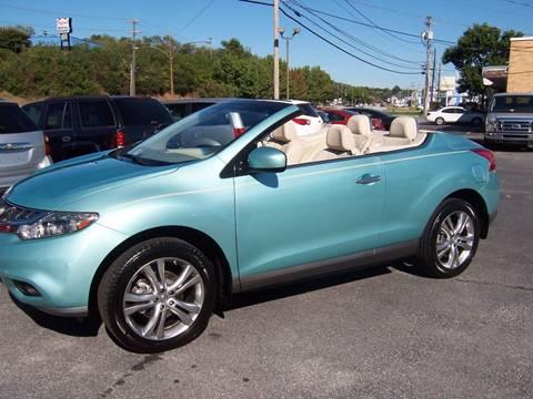 2011 Nissan Murano CrossCabriolet for sale in Danville, VA