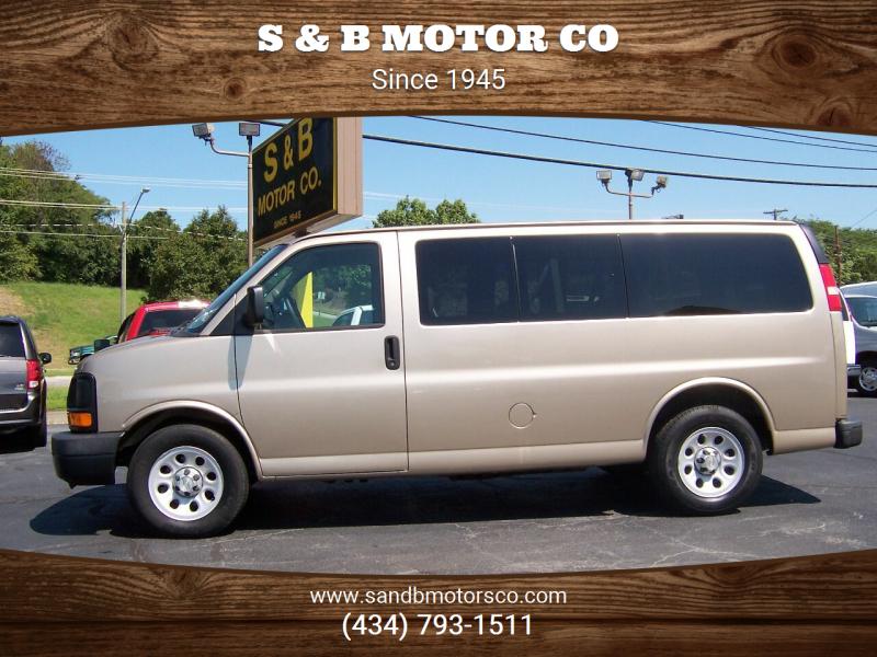 2012 Chevrolet Express Passenger for sale at S & B MOTOR CO in Danville VA