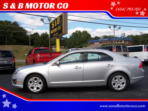 2011 Ford Fusion for sale at S & B MOTOR CO in Danville VA