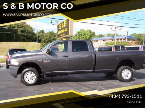 2014 RAM Ram Pickup 2500 for sale at S & B MOTOR CO in Danville VA