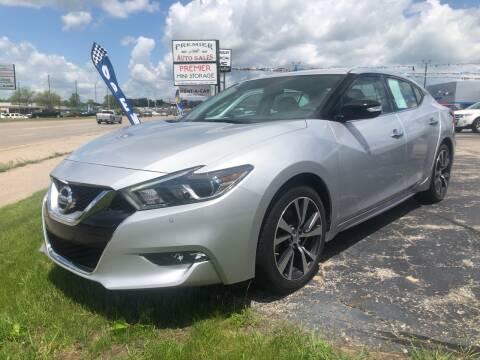 2017 Nissan Maxima for sale at Premier Auto Sales Inc. in Big Rapids MI