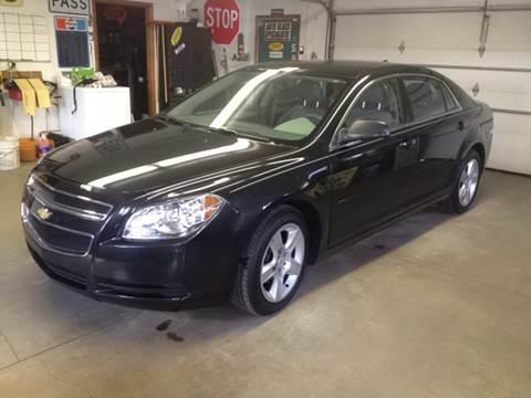 2012 Chevrolet Malibu for sale at Premier Auto Sales Inc. in Big Rapids MI