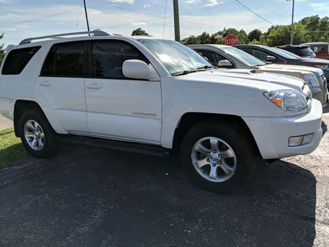 2004 Toyota 4Runner for sale at Premier Auto Sales Inc. in Big Rapids MI
