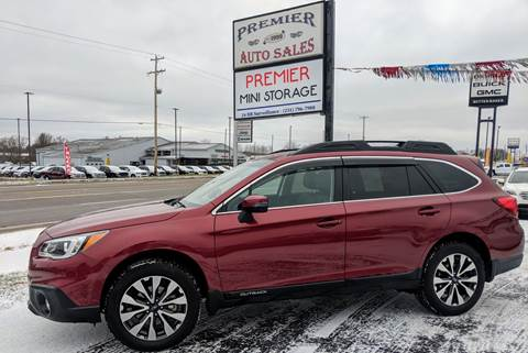 2016 Subaru Outback for sale at Premier Auto Sales Inc. in Big Rapids MI