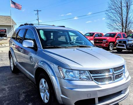 2016 Dodge Journey for sale at Premier Auto Sales Inc. in Big Rapids MI