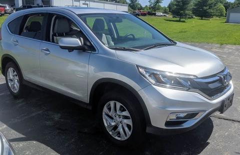 2016 Honda CR-V for sale at Premier Auto Sales Inc. in Big Rapids MI