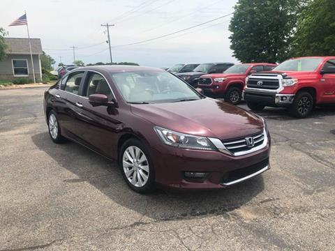 2015 Honda Accord for sale at Premier Auto Sales Inc. in Big Rapids MI