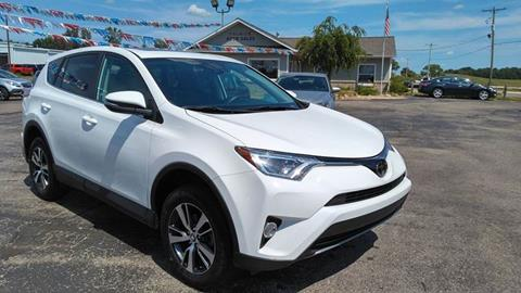 2018 Toyota RAV4 for sale at Premier Auto Sales Inc. in Big Rapids MI