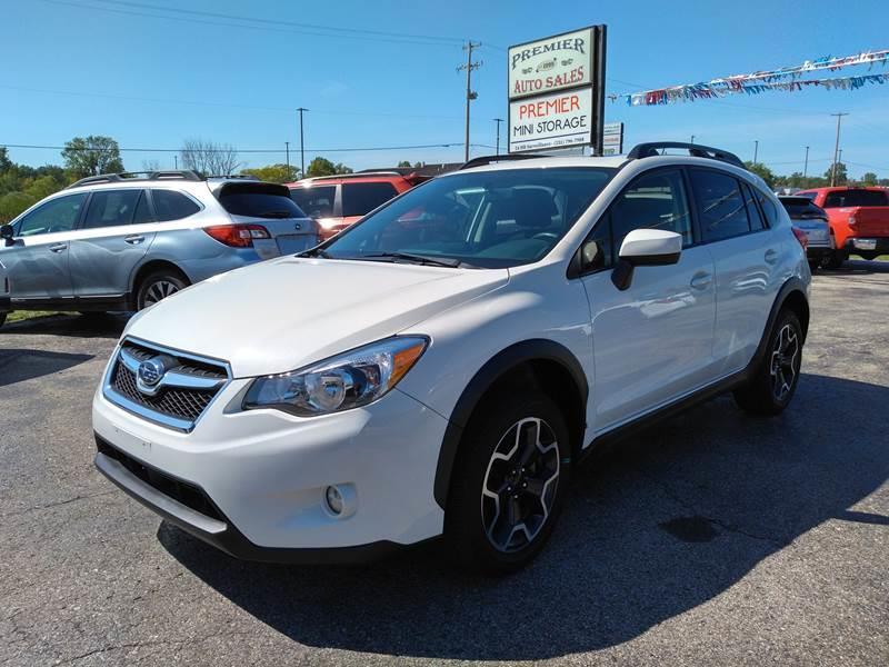 2015 Subaru XV Crosstrek for sale at Premier Auto Sales Inc. in Big Rapids MI