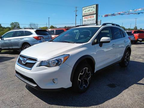 2015 Subaru XV Crosstrek for sale at Premier Auto Sales Inc. in Big Rapids MI