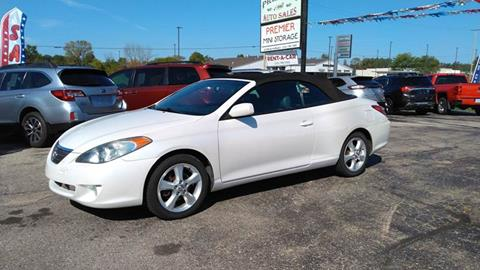 2005 Toyota Camry Solara for sale at Premier Auto Sales Inc. in Big Rapids MI