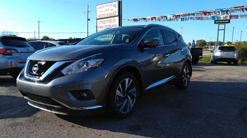 2018 Nissan Murano for sale at Premier Auto Sales Inc. in Big Rapids MI