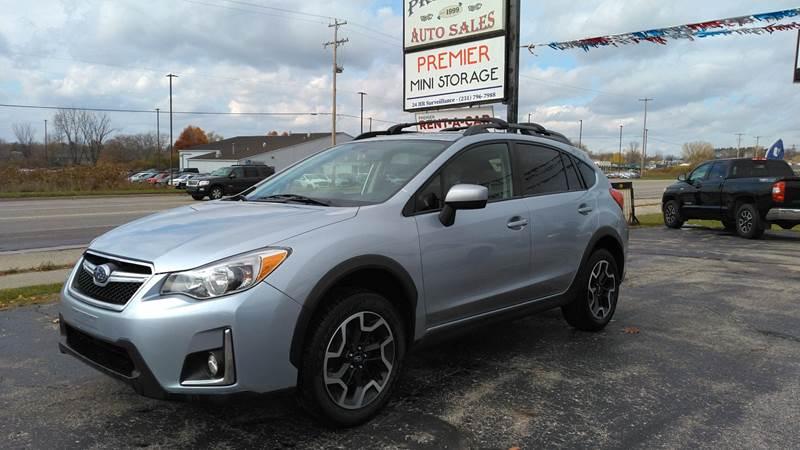 2017 Subaru Crosstrek for sale at Premier Auto Sales Inc. in Big Rapids MI