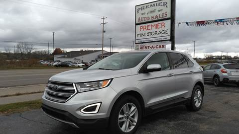 2015 Ford Edge for sale at Premier Auto Sales Inc. in Big Rapids MI
