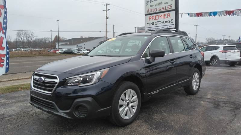 2018 Subaru Outback for sale at Premier Auto Sales Inc. in Big Rapids MI