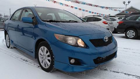 2010 Toyota Corolla for sale at Premier Auto Sales Inc. in Big Rapids MI