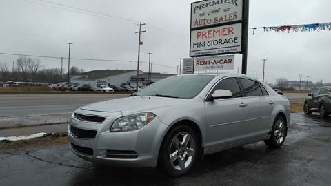 2010 Chevrolet Malibu for sale at Premier Auto Sales Inc. in Big Rapids MI