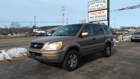 2003 Honda Pilot for sale at Premier Auto Sales Inc. in Big Rapids MI