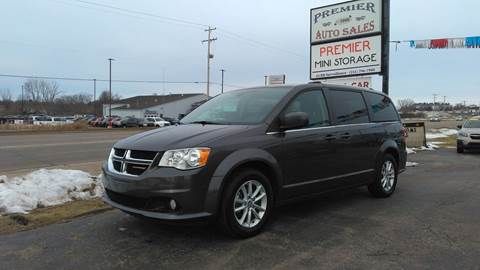 2018 Dodge Grand Caravan for sale at Premier Auto Sales Inc. in Big Rapids MI