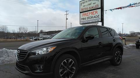 2016 Mazda CX-5 for sale at Premier Auto Sales Inc. in Big Rapids MI