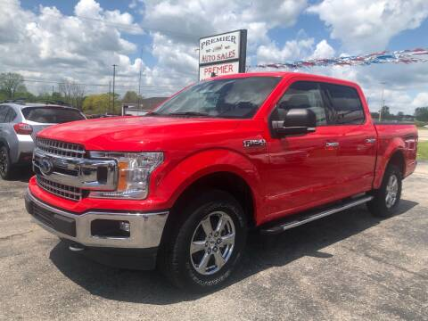 2019 Ford F-150 for sale at Premier Auto Sales Inc. in Big Rapids MI