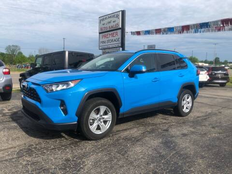 2019 Toyota RAV4 for sale at Premier Auto Sales Inc. in Big Rapids MI