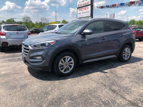 2018 Hyundai Tucson for sale at Premier Auto Sales Inc. in Big Rapids MI