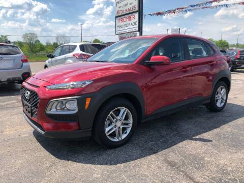 2019 Hyundai Kona for sale at Premier Auto Sales Inc. in Big Rapids MI