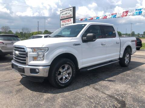 2015 Ford F-150 for sale at Premier Auto Sales Inc. in Big Rapids MI