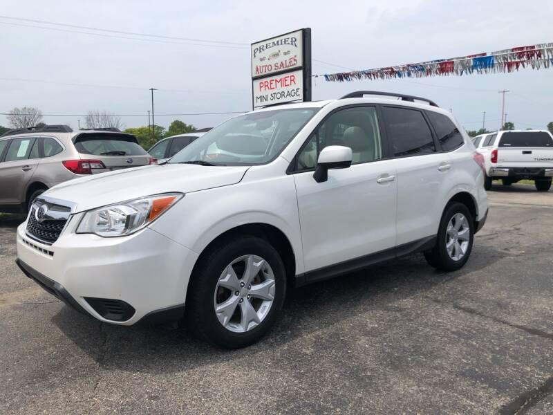 2015 Subaru Forester for sale at Premier Auto Sales Inc. in Big Rapids MI