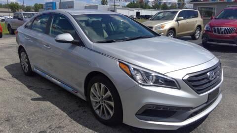 2017 Hyundai Sonata for sale at Premier Auto Sales Inc. in Big Rapids MI