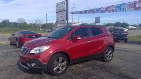 2014 Buick Encore for sale at Premier Auto Sales Inc. in Big Rapids MI