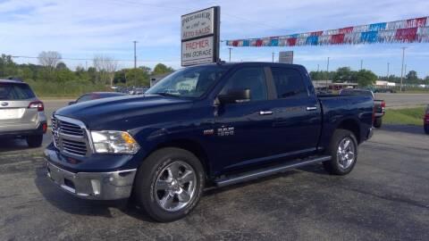 2018 RAM Ram Pickup 1500 for sale at Premier Auto Sales Inc. in Big Rapids MI
